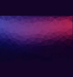 Purple violet magenta abstract geometric rumpled vector