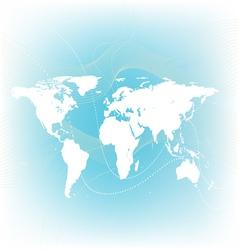Soft world map vector