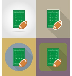 Sport flat icons 66 vector