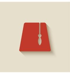 red fez design element vector image