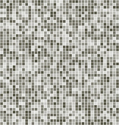 Monochrome square mosaic background vector