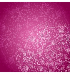 crimson background with white lace vector image