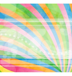 Modern background in rainbow colors vector image
