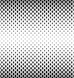 Monochrome curved shape pattern design background vector