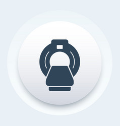 Mri scanner icon vector