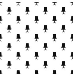 office chair pattern vector image