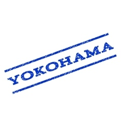 Yokohama Watermark Stamp vector