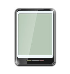 electronic clipboard icon vector image vector image