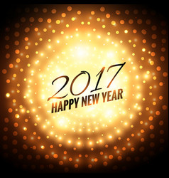 2017 new year party celebration background with vector