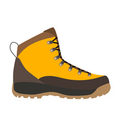 enduring leather boot vector image vector image