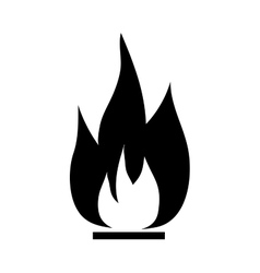 Fire sign 1906 vector image vector image