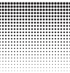 Stars Halftone Pattern vector image