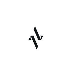 Av initial logo design logo avletter logo vector