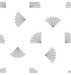 Braided spiderweb pattern seamless vector