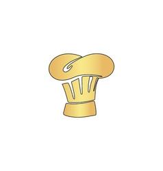 Chef cap computer symbol vector image