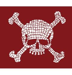 Skull Mosaic vector image