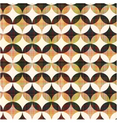 seamless abstract geometric circle pattern vector image vector image