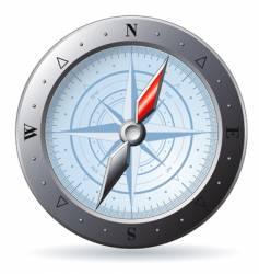 Steel compass vector