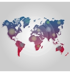 world map connection Worldmap template for vector image