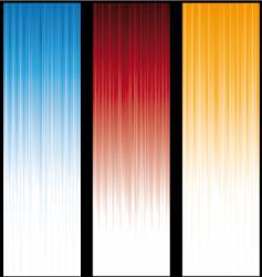 vertical-lines-banners vector image vector image