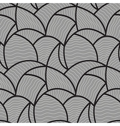 Abstract wave pattern seamless vector image