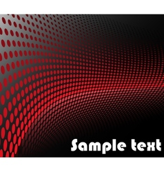 Background with red circles vector