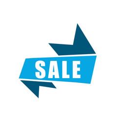 banner sale icon design template vector image