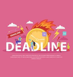Deadline flat composition vector