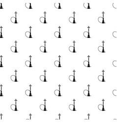 Hookah pattern vector