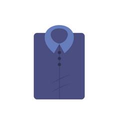 man shirt casual design style vector image