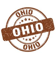 Ohio stamp vector
