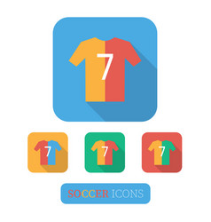 t-shirt sign icon vector image