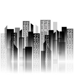 Urban city view vector