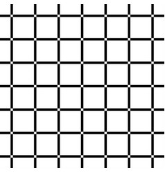 white square on black background seamless vector image