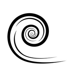 wind icon blow blast design isolated on white vector image