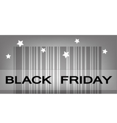 Back Friday Barcode for Special Price Products vector image vector image