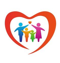 FamilyLove vector image