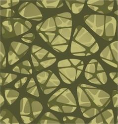 organic pattern design symmetrically vector image vector image