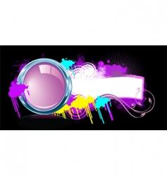 pop funk vector image