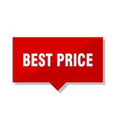 Best price red tag vector