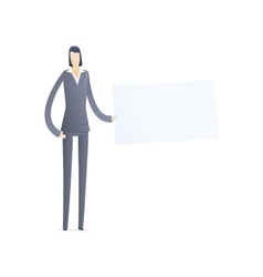 business people in different situations vector image
