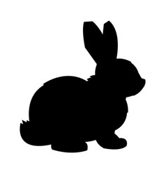 cartoon bunny rabbit graphic vector image