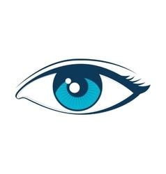 eye look vision vector image