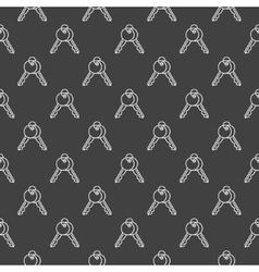 Keys pattern vector image