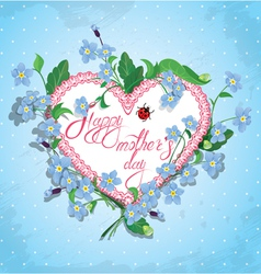 mother day card 2 380 vector image