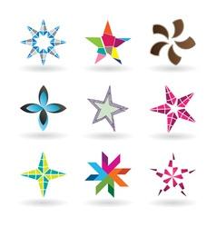 Creative Stars vector image vector image