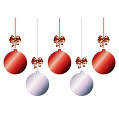 Decorative xmas balls8 vector