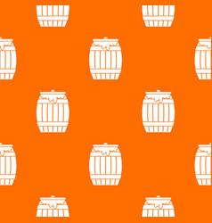 Honey keg pattern seamless vector
