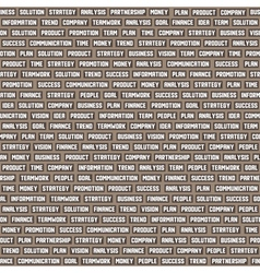 Seamless background pattern with business keywords vector