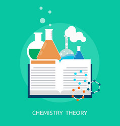 Template complex icon 479 chemistry theory vector